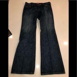 James jeans cotton blue denim size 31 boot cut